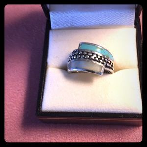 Jewelry - Ladies  Sterling Silver turquoise ring